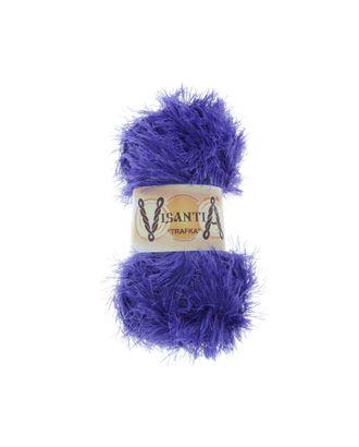 """Пряжа VISANTIA """"TRAFKA"""" (100% полиэстер) 5х100г/150 м цв.0064 фиолетовый арт. МГ-62789-1-МГ0689806"""