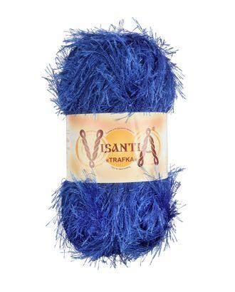 """Пряжа VISANTIA """"TRAFKA"""" (100% полиэстер) 5х100г/150 м цв.0004 яр.синий арт. МГ-62790-1-МГ0689807"""