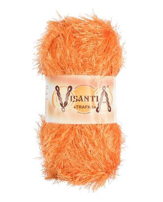 """Пряжа VISANTIA """"TRAFKA"""" (100% полиэстер) 5х100г/150 м цв.0018 св.оранжевый арт. МГ-62791-1-МГ0689808"""