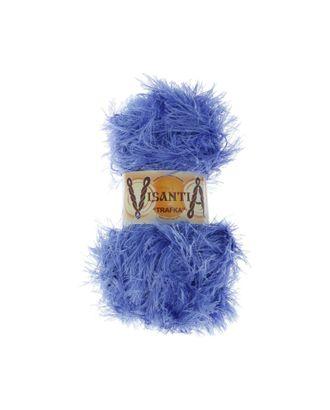 """Пряжа VISANTIA """"TRAFKA"""" (100% полиэстер) 5х100г/150 м цв.0071 т.голубой арт. МГ-62798-1-МГ0689815"""