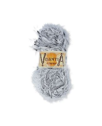 "Пряжа VISANTIA ""TRAFKA"" меланжевая (100% полиэстер) 5х100г/150 м цв.5001 белый-черный арт. МГ-62825-1-МГ0689842"
