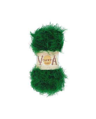 """Пряжа VISANTIA """"KUZU"""" (70% полиэстер, 30% нейлон) 5х100г/55м цв.08 зелёный арт. МГ-62853-1-МГ0689877"""