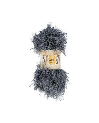 """Пряжа VISANTIA """"KUZU"""" (70% полиэстер, 30% нейлон) 5х100г/55м цв.13 чёрно-белый арт. МГ-62854-1-МГ0689878"""