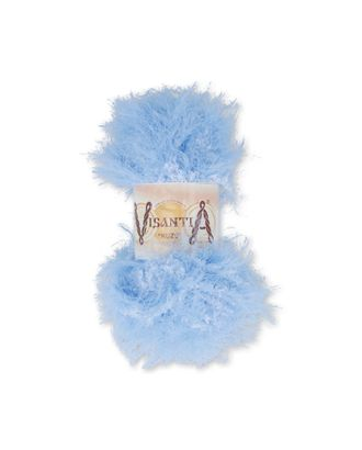 """Пряжа VISANTIA """"KUZU"""" (70% полиэстер, 30% нейлон) 5х100г/55м цв.03 св.голубой арт. МГ-62857-1-МГ0689881"""