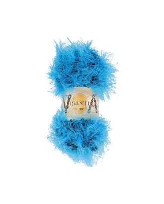 """Пряжа VISANTIA """"KUZU"""" (70% полиэстер, 30% нейлон) 5х100г/55м цв.06 яр.голубой арт. МГ-62858-1-МГ0689882"""