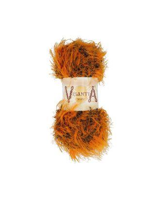 """Пряжа VISANTIA """"KUZU"""" (70% полиэстер, 30% нейлон) 5х100г/55м цв.10 оранжевый арт. МГ-62861-1-МГ0689885"""