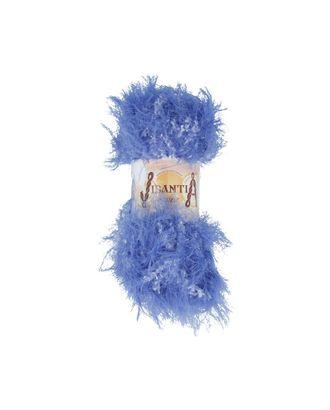 """Пряжа VISANTIA """"KUZU"""" (70% полиэстер, 30% нейлон) 5х100г/55м цв.04 синий арт. МГ-62862-1-МГ0689886"""