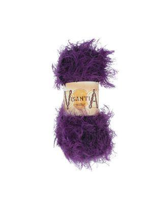 """Пряжа VISANTIA """"KUZU"""" (70% полиэстер, 30% нейлон) 5х100г/55м цв.07 фиолетовый арт. МГ-62864-1-МГ0689888"""