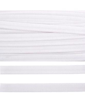 Резинка бельевая (с силиконом) 61003 ш.1,5см цв.белый арт. МГ-80852-1-МГ0711115