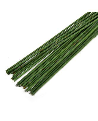 Флористическая проволока Ø2,5 мм, цв.зеленый, 36 см, уп.20 шт арт. МГ-63605-1-МГ0712736