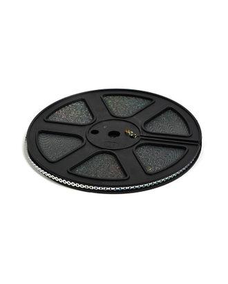 Пайетки на кассете без нити ш.0,4см цв.серебро арт. МГ-10647-1-МГ0714676