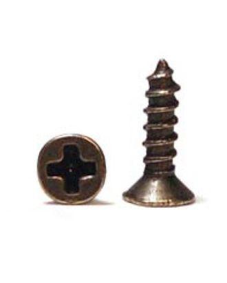 ШКМ1.2.1.200 Шуруп мини для крепления декоративных элементов Бронза 4х10 мм уп. 200 г (±600шт) арт. МГ-63816-1-МГ0715290