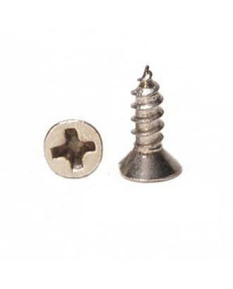 ШКМ5/ШКМ5.0.5.200 Шуруп мини для крепления декоративных элементов Серебро 4х6 мм уп. 200г (±1200шт) арт. МГ-63820-1-МГ0715294