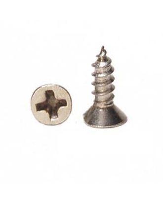 ШКМ5.1.5.200 Шуруп мини для крепления декоративных элементов Серебро 4х8 мм уп. 200 г (±800шт) арт. МГ-63821-1-МГ0715295