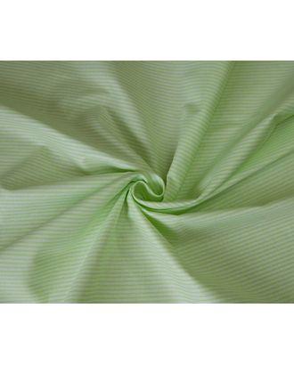 Ткань хлопок Полоска-1663, 125г/м², 100% хлопок, цв.01 салатовый уп.50х50см арт. МГ-10723-1-МГ0716248