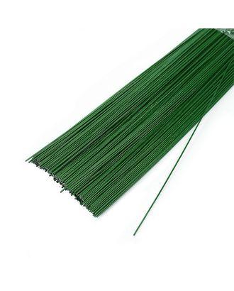 Проволока герберная 0.8 мм, уп.1 кг,  цв.зеленый арт. МГ-64019-1-МГ0716670