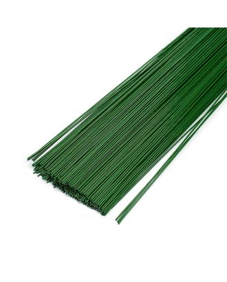 Проволока герберная 1.0 мм, уп.1 кг,  цв.зеленый арт. МГ-64020-1-МГ0716671