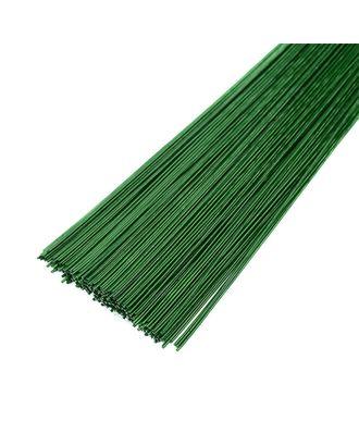 Проволока герберная 1.1 мм, уп.1 кг,  цв.зеленый арт. МГ-64021-1-МГ0716672
