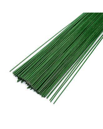 Проволока герберная 1.2 мм,  уп.1 кг,  цв.зеленый арт. МГ-64022-1-МГ0716673