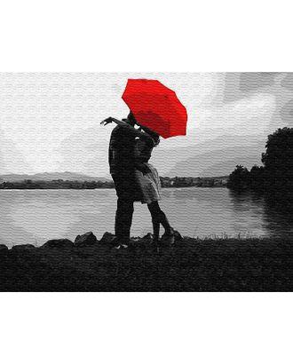 К по номерам Свидание под красным зонтом EX5810 30х40 тм Цветной арт. МГ-64029-1-МГ0716683