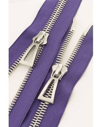 Молния металл №10 Premium никель два замка 100см цв.D559 фиолетовый арт. МГ-64045-1-МГ0716869