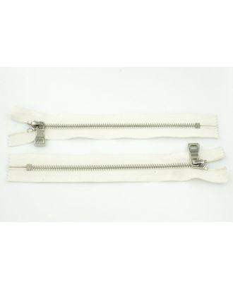 Молния металл №5 Premium никель н/р 18см цв.D841 белый арт. МГ-64080-1-МГ0716931