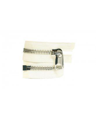 Молния металл №12 Premium никель разъем 65см цв.D123 бежевый арт. МГ-64101-1-МГ0716954