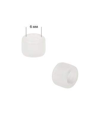 Ограничительное кольцо пластик (Ø 6мм) цв.прозрачный арт. МГ-80896-1-МГ0718097