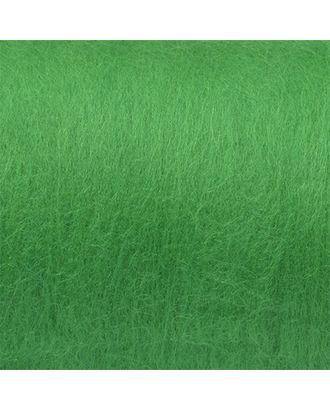 """Шерсть для валяния КАМТ """"Кардочес"""" (100% шерсть п/т) 1х100г цв.044 трава арт. МГ-64278-1-МГ0718595"""