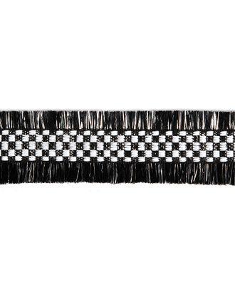 Тесьма Шанель SH71 ш.3см цв.черный арт. МГ-10947-1-МГ0718611