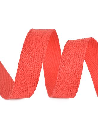 Тесьма киперная 10 мм хлопок 2,5г/см цв.F162 красный уп.50м арт. МГ-64413-1-МГ0719779