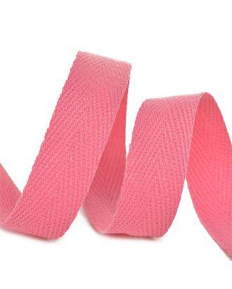 Тесьма киперная 15 мм хлопок 2,5г/см цв.F137 розовый уп.50м арт. МГ-11033-1-МГ0721121