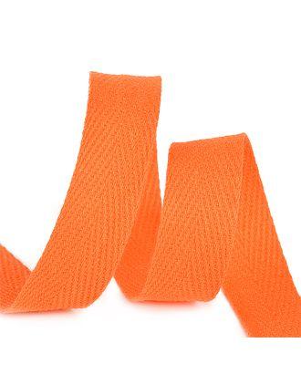 Тесьма киперная 15 мм хлопок 2,5г/см цв.F157 оранжевый уп.50м арт. МГ-11039-1-МГ0721127