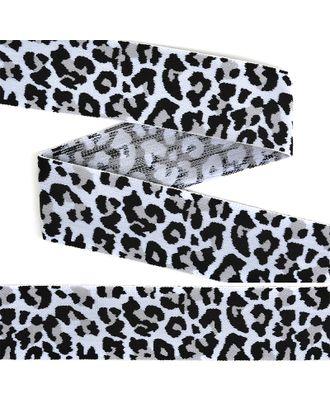 Резинка TBY декоративная мягкая Леопард ш.4см арт. МГ-92258-1-МГ0722554
