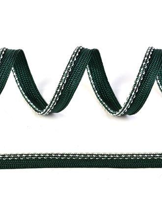 Кант декоративный ш.1,2см цв.153 изумруд-серебро арт. МГ-11096-1-МГ0723278