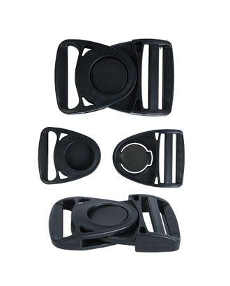 Фастекс пластик Ф-40/1 40мм черный уп.100шт арт. МГ-99680-1-МГ0735240