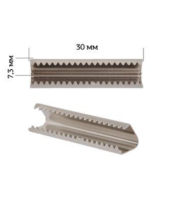 Наконечник-зажим для стропы металл 1742 30х7,3мм цв.3 арт. МГ-81096-1-МГ0735954