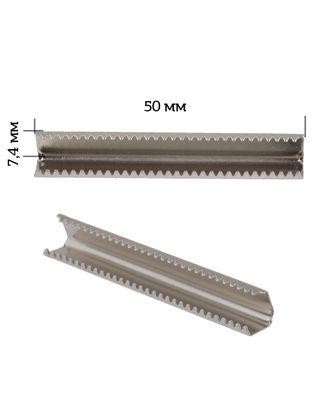 Наконечник-зажим для стропы металл 1749 50х7,4мм цв.3 арт. МГ-81102-1-МГ0735962