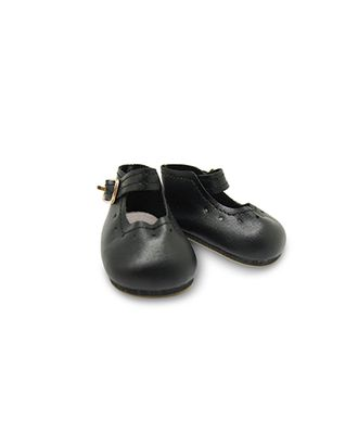 Туфли для куклы с пряжкой 65х30мм цв.черный 1 пара арт. МГ-13700-1-МГ0738914