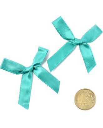 Бантики пришивные 3,5см цв.10 зеленый уп.100шт арт. МГ-77478-1-МГ0739148