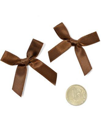 Бантики пришивные 3,5см цв.07 коричневый уп.100шт арт. МГ-77481-1-МГ0739151