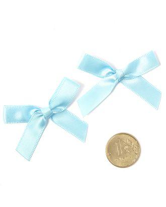 Бантики пришивные 3,5см цв.05 синий уп.100шт арт. МГ-77483-1-МГ0739153