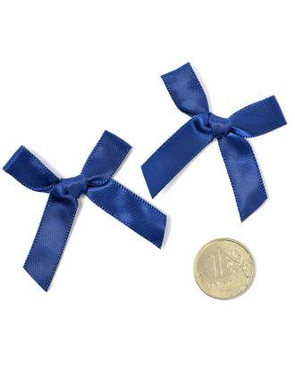 Бантики пришивные 3,5см цв.04 т.синий уп.100шт арт. МГ-77484-1-МГ0739154
