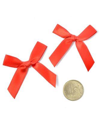Бантики пришивные 3,5см цв.03 красный уп.100шт арт. МГ-77485-1-МГ0739155