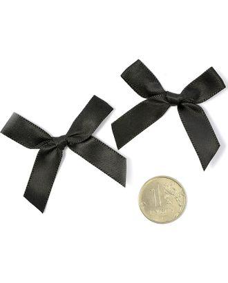 Бантики пришивные 3,5см цв.02 черный уп.100шт арт. МГ-77486-1-МГ0739156