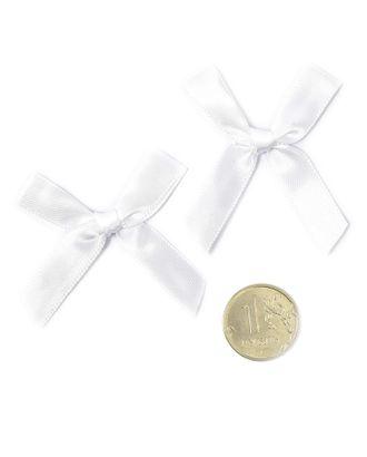 Бантики пришивные 3,5см цв.01 белый уп.100шт арт. МГ-77487-1-МГ0739157