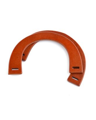 Ручка для сумки, дерево, 25см, цв.св.коричневый, уп.2шт арт. МГ-66905-1-МГ0739975