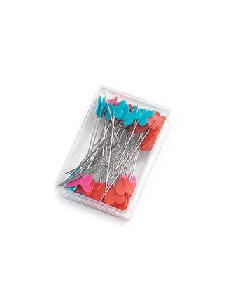 """Булавки PRYM 028521 """"Prym Love"""" с пластиковыми головками р.5х0,06см арт. МГ-67021-1-МГ0742420"""