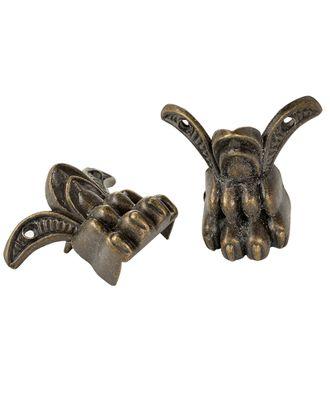 ШЖМ22.48 Комплект декоративных ножек для шкатулок уп.48 шт. Бронза 39х19мм арт. МГ-67052-1-МГ0742628