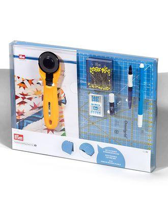 651496 PRYM Набор для пэчворка (коврик 30*45см, нож MAXI, линейка 15*30см, аква-маркер, игольница, булваки, иглы) арт. МГ-67118-1-МГ0745299